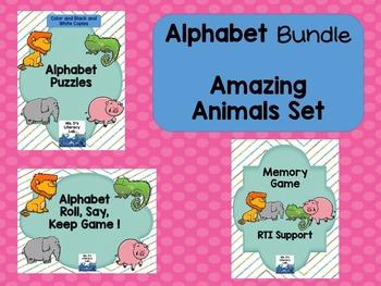 Alphabet Animals (Bundle)