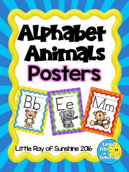 Alphabet Animals Posters
