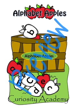 Alphabet Apples Game