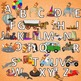 Alphabet Armadillo Images for Frieze Mega Bundle