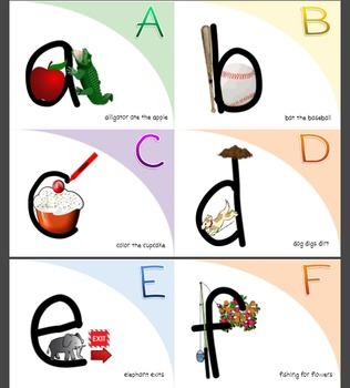 Alphabet Basic Phonics Sound Cards