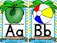 Alphabet (Beach Theme)