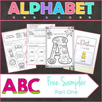 Alphabet Beginning Sound Packs Free Sample 1