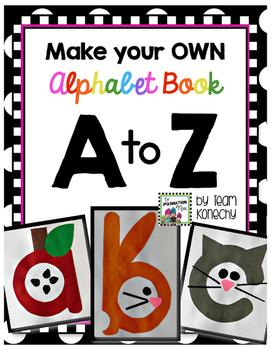 Alphabet Book - Lowercase