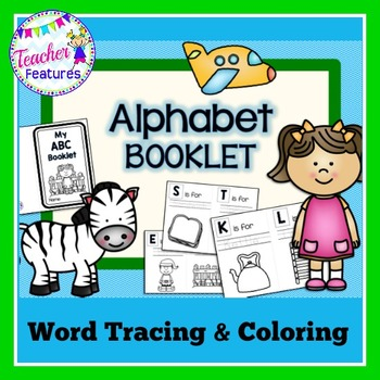 Alphabet Book with Word Tracing