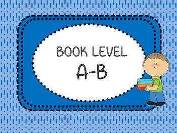 Alphabet Book Bin Labels