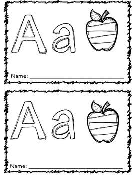 Alphabet Book RTI Letter and Sound Intervention Books