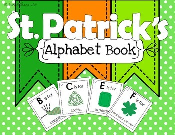 Alphabet Book - St. Patrick's Day