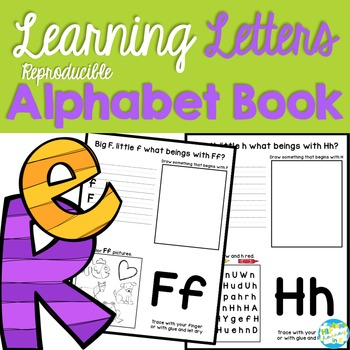 Learning Letters Alphabet Book