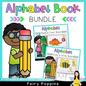 A to Z Book Bundle - Drawing & Coloring!