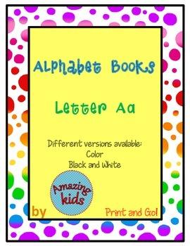 Alphabet Books - Letter Aa *FREE*