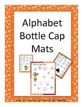 Alphabet Bottle Cap Mats