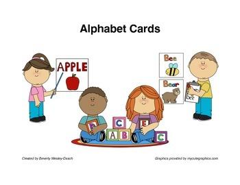 Alphabet Bulletin Board Cards