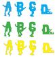 Alphabet Bulletin Board People (Letters A to Z) - ZisforZebra