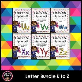 Alphabet Letters Bundle