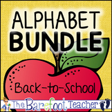 Back to School Alphabet Bundle of Activities