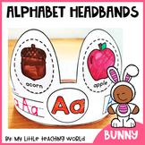 Alphabet Bunny Headband