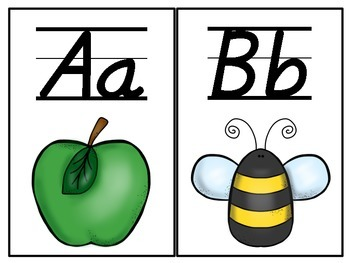 Alphabet Cards Freebie