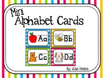 Alphabet Cards - Mini