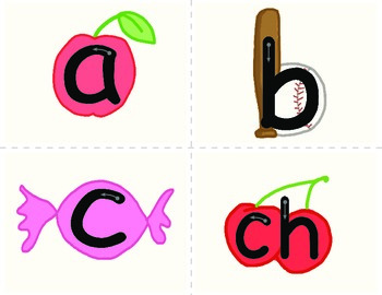 Alphabet Picture Cards - Printable