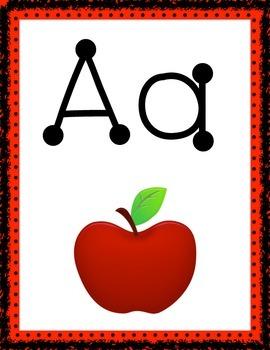 Alphabet Cards (Rainbow)