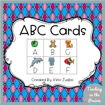 Alphabet Cards- Simple