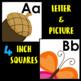 Alphabet Cards- Word Wall Headers ~ Clear