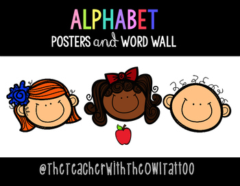 Alphabet Cards and Word Wall