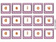 Alphabet Cards with Digraphs (lowercase): Pink Stripes