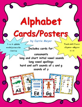 Alphabet Cards/Posters
