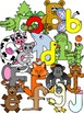 Alphabet Character Clipart Graphics- Commercial & Personal