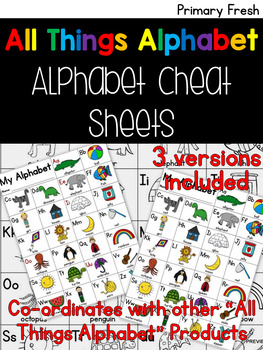 All Things Alphabet: Alphabet Chart