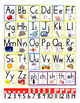Alphabet Linking Charts: Handwriting Without Tears-style f