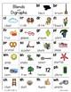 Alphabet Charts & Word Wall Headers (Blue)