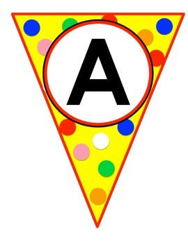 Alphabet Circus Banner