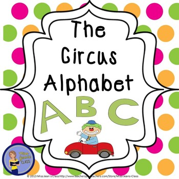 Alphabet Circus - Fun Letter Recognition Activities!
