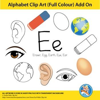 "Alphabet Clip Art | Add on ""Ee"""