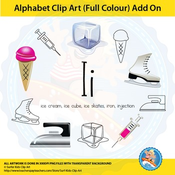 "Alphabet Clip Art | Add on ""Ii"""