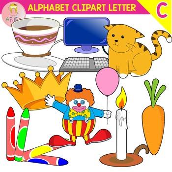 Alphabet Clip Art Letter C-Set