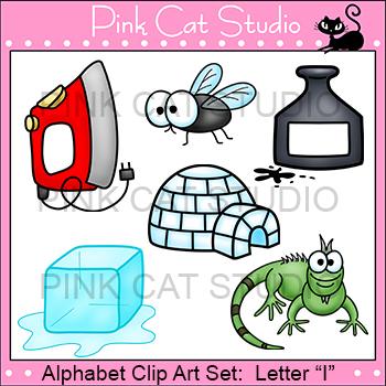 Alphabet Clip Art: Letter I - Phonics Clipart Set - Person