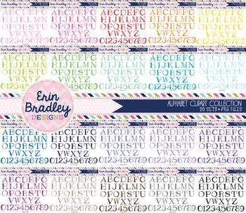 Alphabet Clipart Bundle