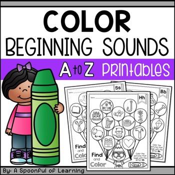 Alphabet Color Beginning Sounds