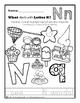 Alphabet Coloring Worksheet Super Pack!