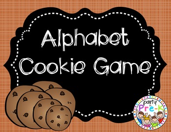 Alphabet Cookie Game