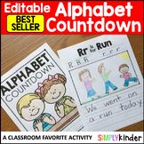 Alphabet Countdown (Editable)