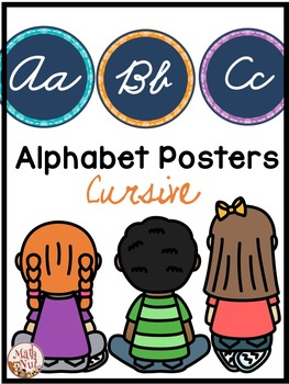 Cursive Alphabet Word Wall