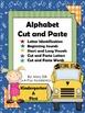 Kindergarten / First Grade  Alphabet Cut and Paste