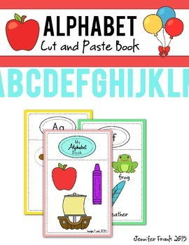 Alphabet Cut and Paste Book