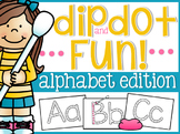 Alphabet Dip and Dot Fun