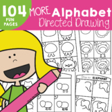 Alphabet Directed Drawing #2